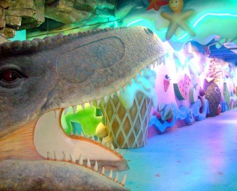 看长隆野生动物世界,鳄鱼公园